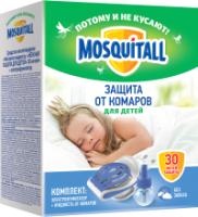 Электрофумигатор Mosquitall Нежная защита для детей от комаров 30 ночей (30мл) -