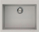Мойка кухонная Elleci Quadra 110 Aluminium M79 / LMQ11079 -