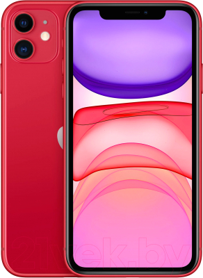 Смартфон Apple iPhone 11 256GB (PRODUCT)RED / MHDR3