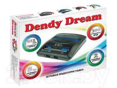 Игровая приставка Dendy Dream 300 игр