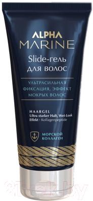 Гель для укладки волос Estel Slide Alpha Marine ультра сильная фиксация (100мл)