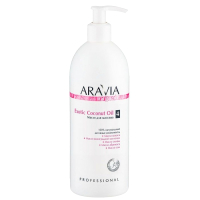 Масло косметическое Aravia Organic Exotic Coconut Oil для расслабляющего массажа (500мл) -