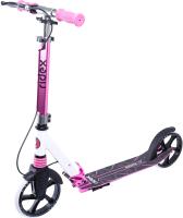 Самокат Ridex Sigma 200мм (белый/фиолетовый) -