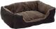 Лежанка для животных Beeztees Baboo / 704812 (коричневый/черный) -