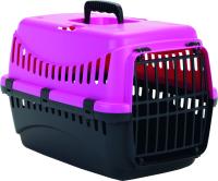 Переноска для животных Beeztees Gypsy 715093 (розовый/антрацит) -