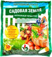 Грунт для растений Народный грунт Садовая земля 4607049610502 (30л) -