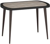 Обеденный стол Ивару Сочи 3 (опоры массив цилиндрические/венге) -