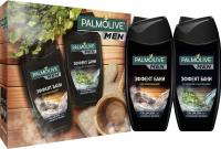 Набор косметики для тела Palmolive Men эффект бани гель для душа 2в1 250мл+гель для душа 2в1 250мл -