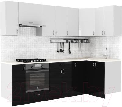 Готовая кухня S-Company Клео глоcс 1.2x2.6 правая