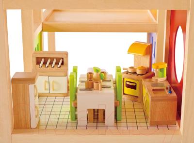 Комплект аксессуаров для кукольного домика Hape Кухня / E3453-HP
