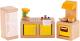 Комплект аксессуаров для кукольного домика Hape Кухня / E3453-HP -