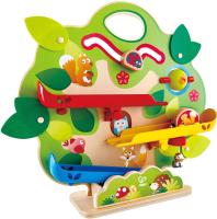Железная дорога игрушечная Hape Белка и орехи / E3821-HP -