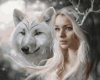 Картина по номерам Picasso Снежная королева (PC4050707) -