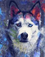 Картина по номерам Picasso Взгляд цветных глаз (PC4050724) -