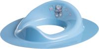 Детская накладка на унитаз Maltex Мишка / 2091 (темно-голубой) -