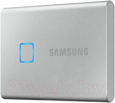 Внешний жесткий диск Samsung T7 Touch 1TB (MU-PC1T0S/WW)