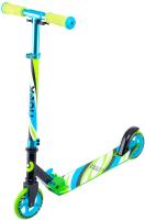 Самокат Ridex Flow 125мм (голубой/зеленый) -