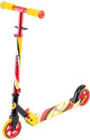 Самокат Ridex Flow 125мм (красный/желтый) -