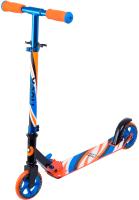 Самокат Ridex Flow 125мм (синий/оранжевый) -