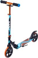 Самокат Ridex Liquid 180мм (черный/оранжевый) -