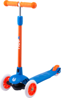 Самокат Ridex Hero 120/80мм (синий/оранжевый) -