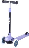 Самокат Ridex Hero 120/80мм (фиолетовый/серый) -