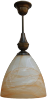 Потолочный светильник Латерна СОНОМА-3074 (коричневый) -