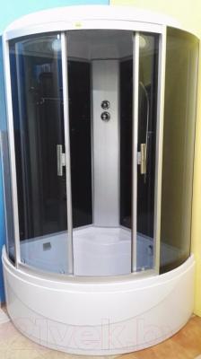 Душевая кабина Coliseum СВ-2238А (черный/тонированное стекло)