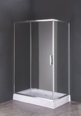 Душевой уголок Coliseum СВ-8021S (прозразное стекло)