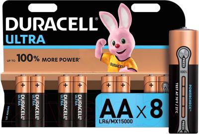 Комплект батареек Duracell UltraPower AA