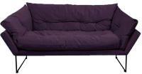Диван Brioli Анико двухместный (В40/фиолетовый) -