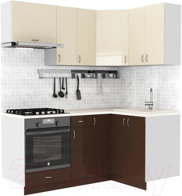 Готовая кухня S-Company Клео глосc 1.2x1.8 правая