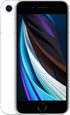 Смартфон Apple iPhone SE 64GB / MHGQ3 (белый) смартфон apple iphone 6s как новый 64gb розовое золото