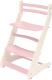 Стул детский Millwood Вырастайка СДН-3 В2 2D (слоновая кость/фламинго) -