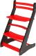 Стул детский Millwood Вырастайка СДН-3 В2 2D (черный/красный) -