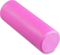 Валик для фитнеса массажный Indigo Foam Roll / IN021 (розовый) -