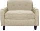 Кресло мягкое Brioli Берн (J1/кремовый) -