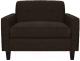 Кресло мягкое Brioli Берн (J5/коричневый) -