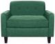 Кресло мягкое Brioli Берн (J16/азур) -