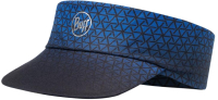 Кепка-козырек Buff Pack Run Visor R-Equilateral Cape Blue (119485.715.10.00) -