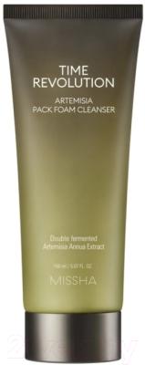 Пенка для умывания Missha Time Revolution Artemisia Pack Foam Cleanser (30мл)