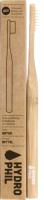 Зубная щетка Hydrophil Натуральная из бамбука средней жесткости (натуральный) -