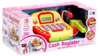 Касса игрушечная Sima-Land Касса-калькулятор с продуктами / 4967686 -