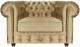 Кресло мягкое Brioli Честер Классик (B2/бежевый) -
