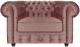 Кресло мягкое Brioli Честер Классик (B38/лиловый) -