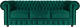 Диван Brioli Честер Классик трехместный (B63/бирюзовый) -