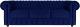 Диван Brioli Честер Классик трехместный (B69/синий) -