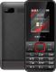 Мобильный телефон Texet TM-207 (черный/красный) -