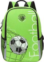 Школьный рюкзак Grizzly RB-151-5 (салатовый) -