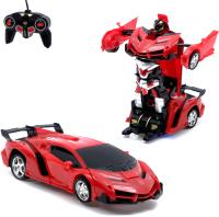 Радиоуправляемая игрушка Sima-Land Робот-трансформер. Ламба / 2688514 (красный) -